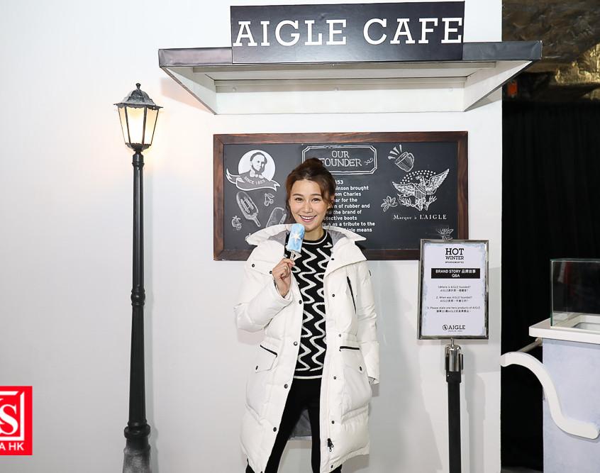 AIGLE開設全港首間期間限定「#HOTWINTER體驗館」-6