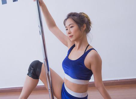 楊昕Jill Yeung與影帝男神拍戲獲益良多