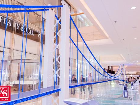 英國土木工程師學會、AECOM與港鐵公司攜手在香港展示全球最 長樂高®積木橋