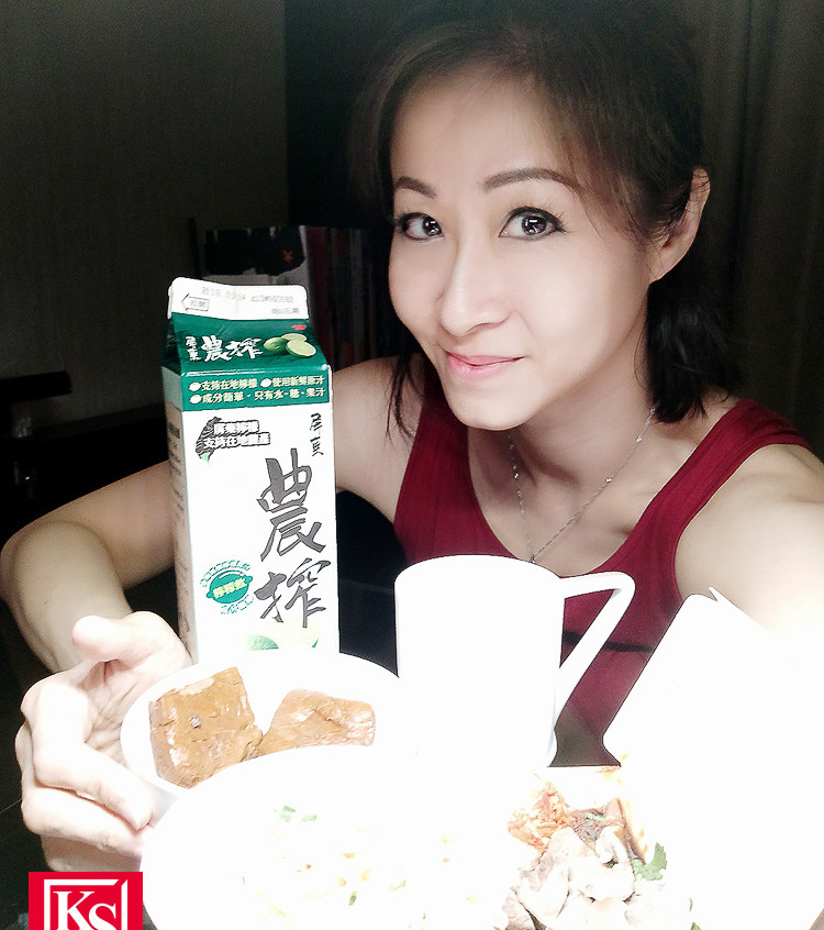 Winnie 在台灣食得放肆,大食大喝笑言長胖不少 (2)