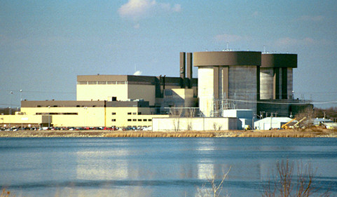 Braidwood Nuclear Power Plant on old Pit 11 site