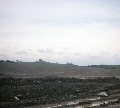 Strip Mining at Pit 11  Reclaim Process, Photo Rich Rock