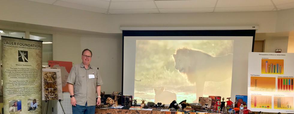 Bruce Lauer shares information on wildlife conservation