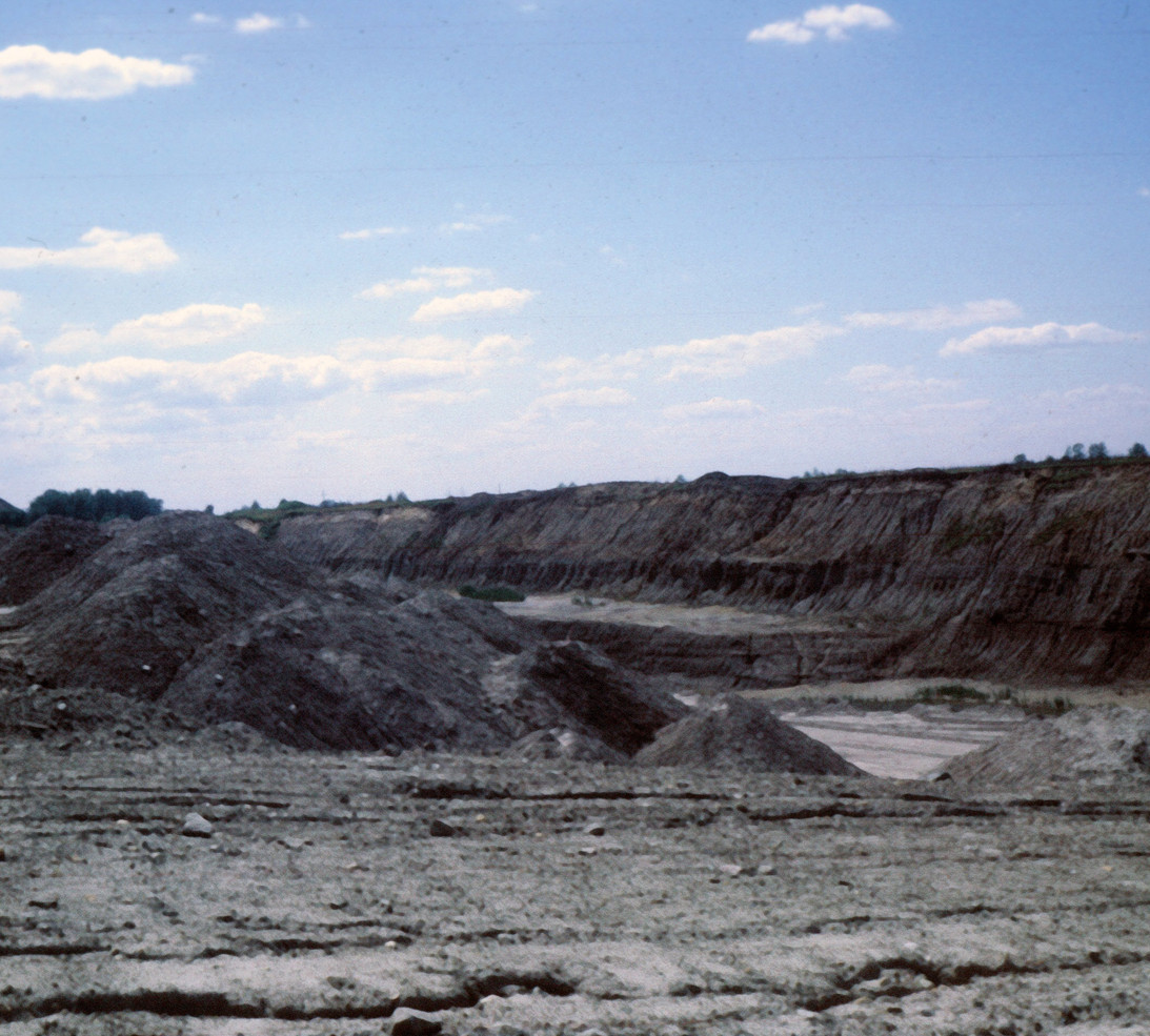 Strip Mine Spoil Hills Pit 11 Braidwood, Illinois, Photo Rich Rock