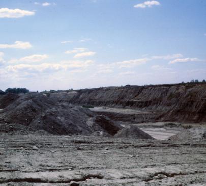 Strip Mine Spoil Hills Pit 11 Braidwood, Illinois, Photo Rich Rock