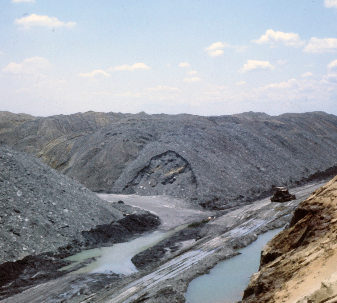 Strip Mining at Pit 11  Reclaim Process, Photo Rich Rock