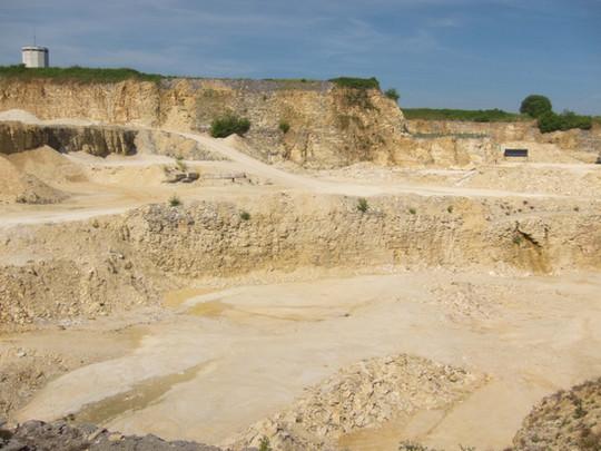 Quarry near Eichstätt, Germany