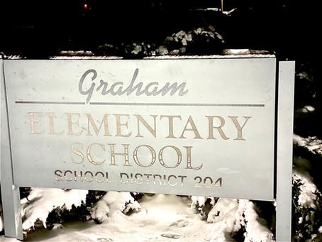 Lauer Foundation PSE Visits Graham Elementary Stem Expo