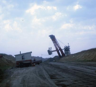 Strip Mining at Sunset Mine Astoria, Illinois, Photo Rich Rock