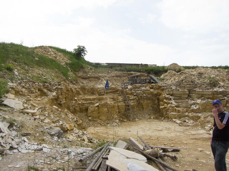 Quarry near Muehlheim, Germany