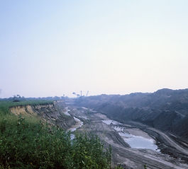 Coal Mining at Pit 11, Briadwood, Illinois, Photo Rich Rock