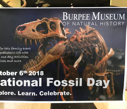 Burpee Museum of Natural History, National Fossil Day
