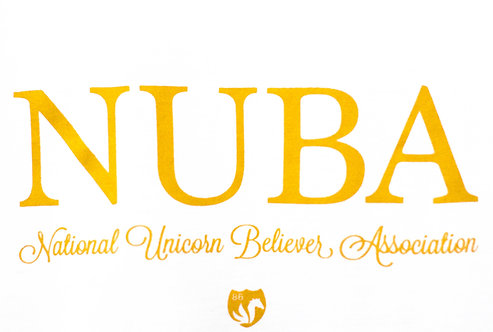 NUBA TEE National Unicorn Believer Association