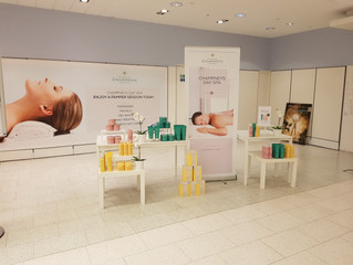 In-store Spa Display