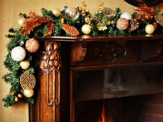 Woodland Retreat Christmas styling