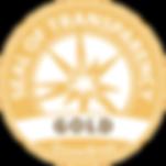 GuideStar Gold Seal of Trasparency logo