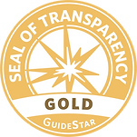 GuideStar Gold Seal of Trasparency logo