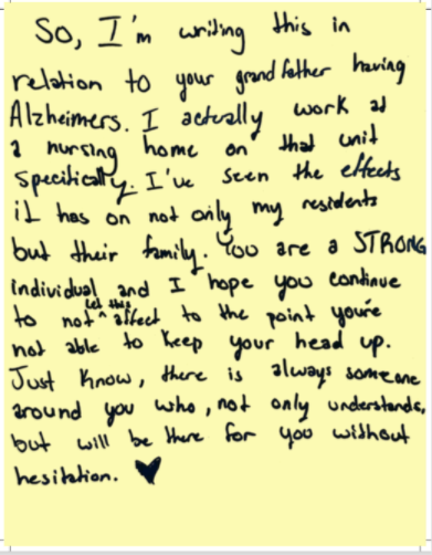 Letter of Hope 1