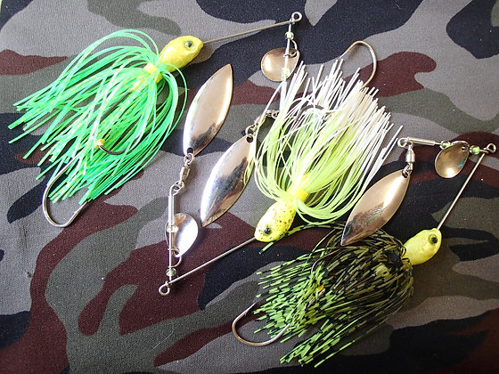 Standard Frog  Spinner Bait 3 Pack