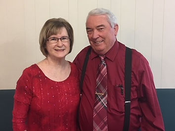 Pastor of Victry Temple PCG, James May, with his wife, Pat May, the Women's Ministries Leader of the Southern District of The Pentecostal Church of God