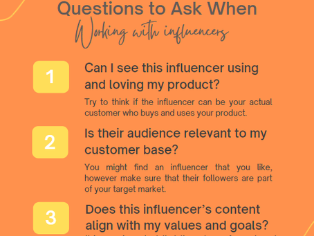 Questions to Ask Before Working with Influencers