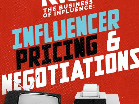 Influencer Pricing & Negotiations