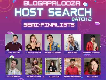 #BlogaLiveHost Semi-finalists!