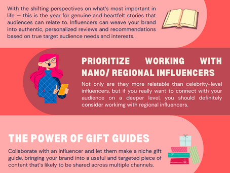 Influencer Marketing Tips for the Holiday Season 2021