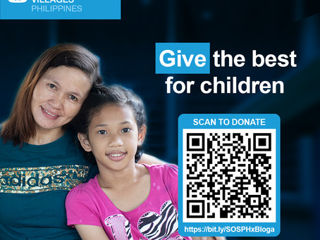 BLOGAPALOOZA PARTNERS WITH SOS CHILDREN'S VILLAGES PHILIPPINES