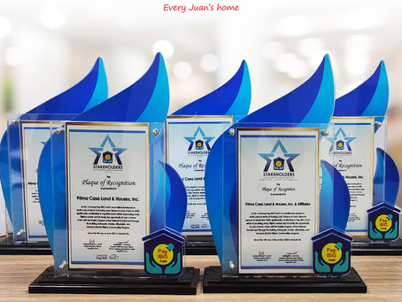 Pag-IBIG Fund recognizes Lumina Homes in Stakeholders Accomplishment Report 2020