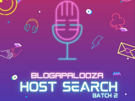 Blogapalooza #BlogaLiveHost Search Batch 2!