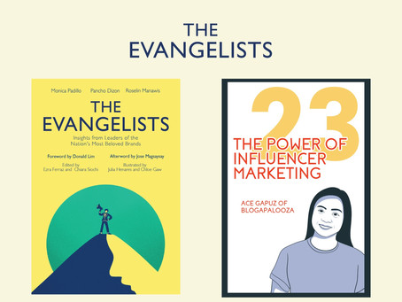 Blogapalooza's very own Ace Gapuz was recently selected to be featured in The Evangelists!