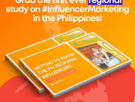 Get a FREE COPY of our Regional Study on Influencer Marketing
