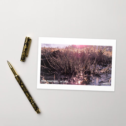 Send this beautiful postcard as a symbol of your thoughts