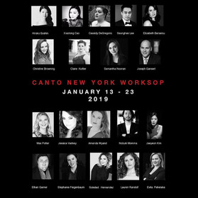 Canto New York Workshop Poster