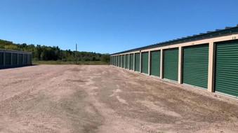 360 view inside storage compound