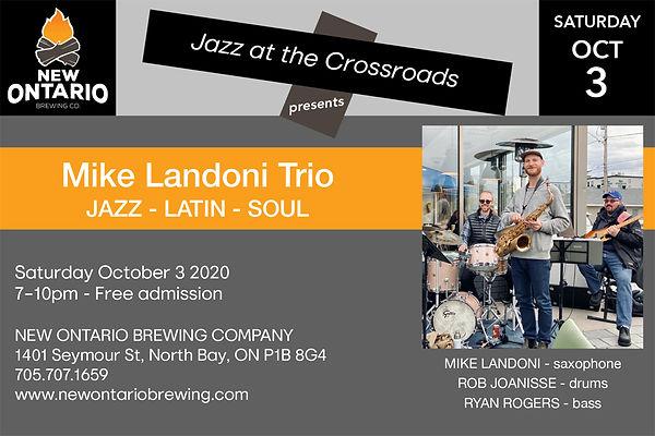 Mike Landoni Trio Oct 3-20 NOBC promo.jp