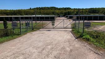 Code access security gate