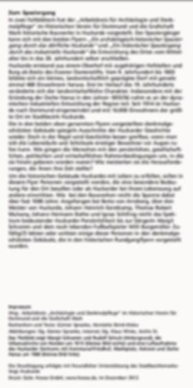 Huckarde 2 - Historische Lebensbilder au