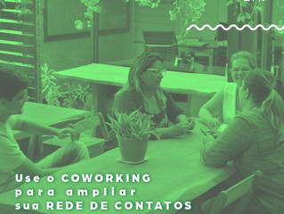 Use o COWORKING para ampliar sua rede de contatos profissionais