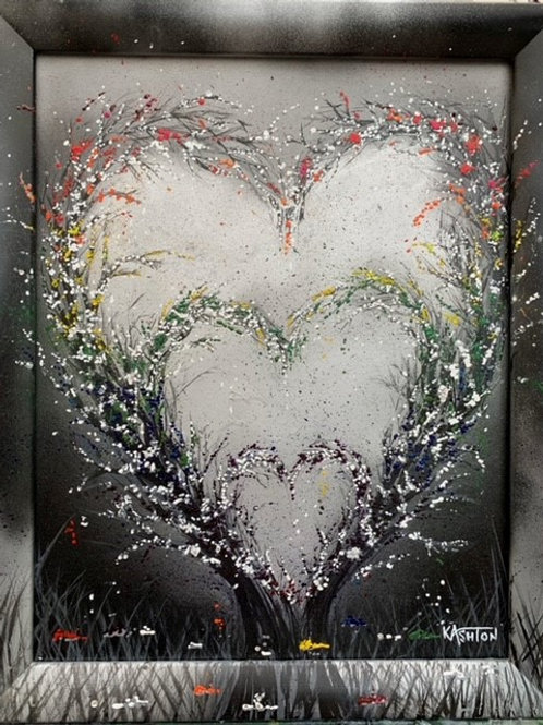 PRIDE IN THE NAME OF LOVE Original Textured Painting
