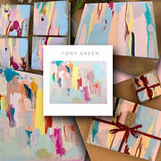 Tony Green placemats, Tony Green coasters, placemat and coaster set, bespoke abstract coasters, abstract art homewares, abstract des+