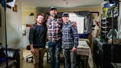 Geoff, Yondee, Craig