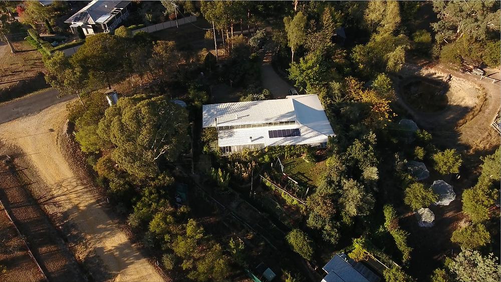 David Holmgren's house