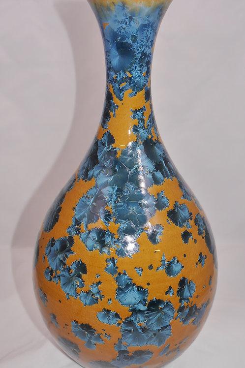Tall 14 inch Narrow Necked Vase
