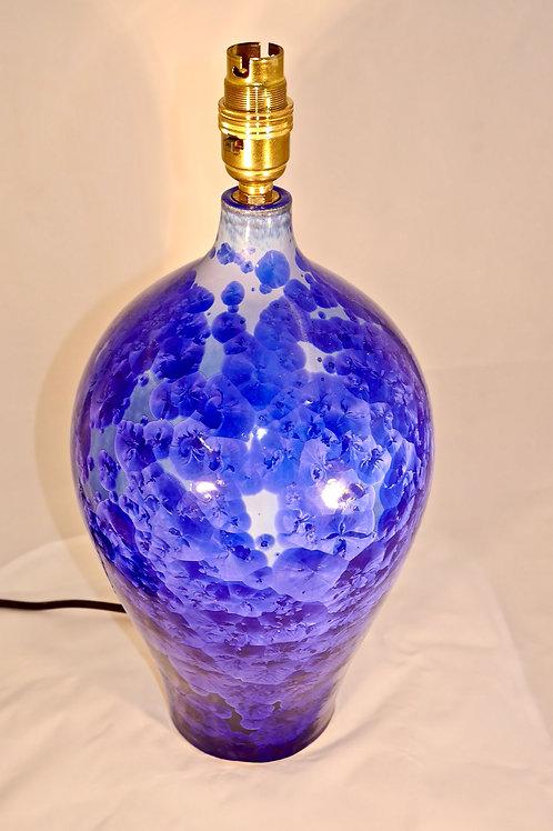 High shouldered Lamp Base ( blue )