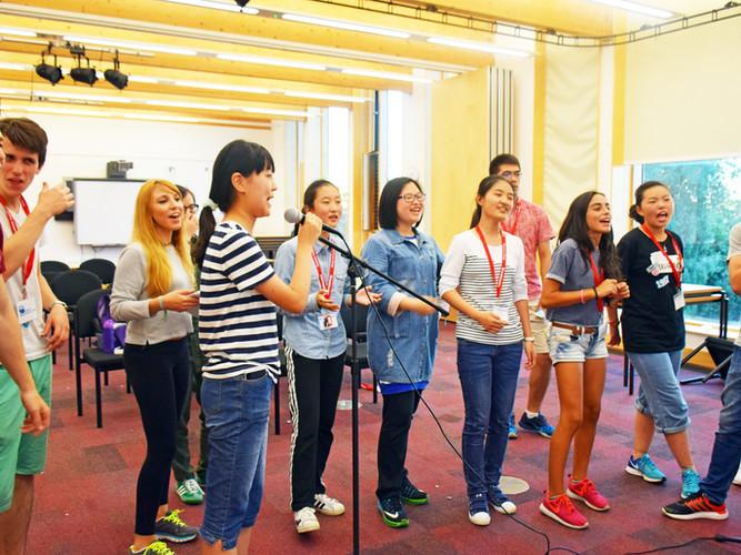 Karaoke activity in Oxford