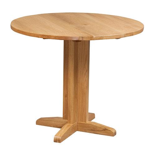Devonshire Pine Dorset Oak DOR089 Drop Leaf Dining Table
