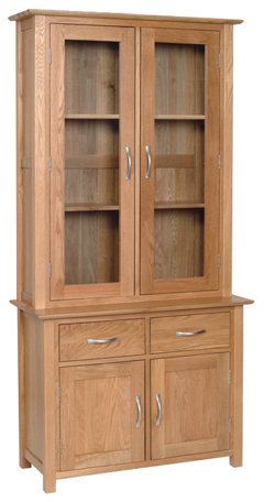 Devonshire Living New Oak ND20 Oak 3Ft Dresser Top And NS20 3Ft Dresser Base