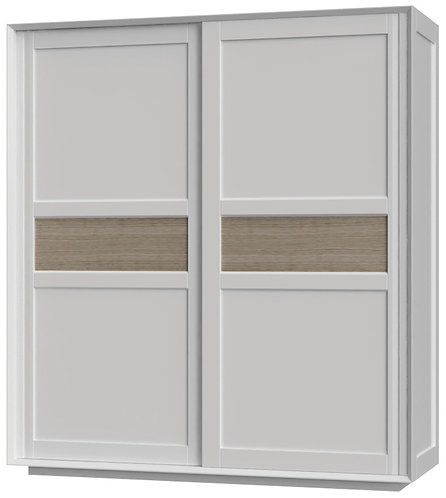 Devonshire Living Corton CUB034 Sliding Door Double Wardrobe